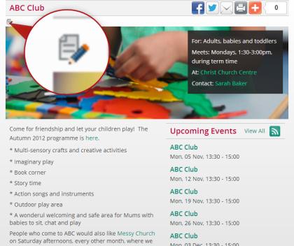 Edit Website Example